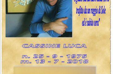 Ricordino Luca Cassine