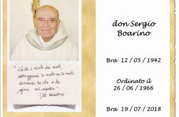 Ricordino Don Sergio Boarino