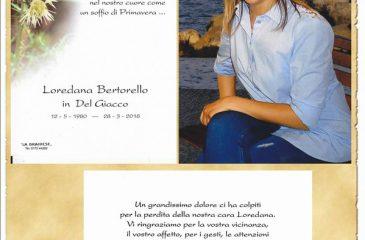 Ricordino Loredana Bertorello