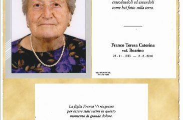 Ricordino Franco Teresa Caterina