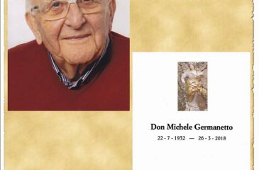 Ricordino Don Michele Germanetto