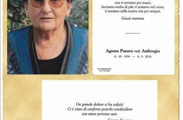 Ricordino Agnese Panero