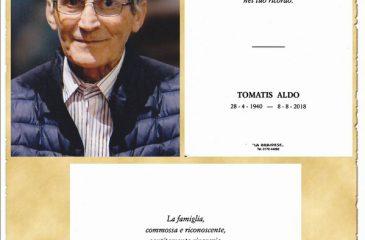 Ricordino Aldo Tomatis