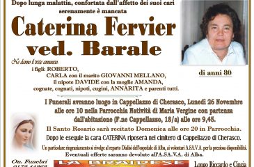 LUTTO CATERINA FERVIER