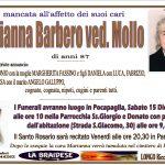 LUTTO MARIANNA BARBERO