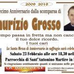 ANNIVERSARIO MAURIZIO GROSSO