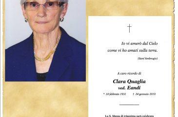 RICORDINO CLARA QUAGLIA