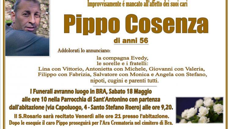LUTTO CARMELO -PIPPO- COSENZA