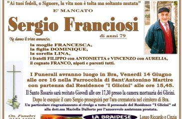 LUTTO SERGIO FRANCIOSI