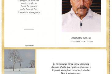 RICORDINO GIORGIO GALLO