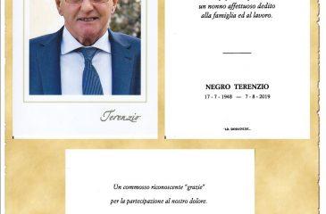 RICORDINO TERENZIO NEGRO
