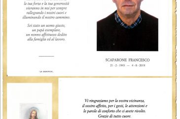 RICORDINO FRANCESCO SCAPARONE