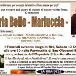 LUTTO MARIA BELLO