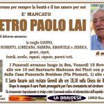 LUTTO PIETRO PAOLO LAI