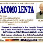 LUTTO GIACOMO LENTA