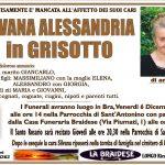 LUTTO SILVANA ALESSANDRIA