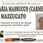 LUTTO MARIA MASSUCCO