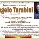 LUTTO ANGELO TARABINI