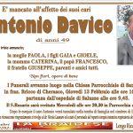 LUTTO ANTONIO DAVICO