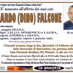 LUTTO BERARDO FALCONE