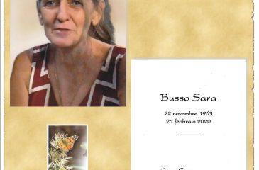 RICORDINO SARA BUSSO