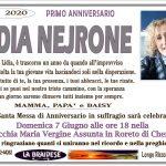 ANNIVERSARIO LIDIA NEJRONE