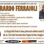 LUTTO GERARDO FERRAIOLI