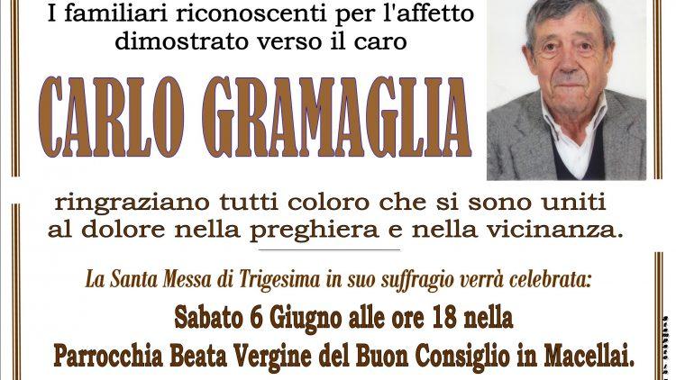 TRIGESIMA CARLO GRAMAGLIA