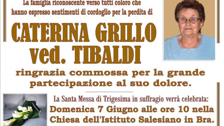 TRIGESIMA CATERINA GRILLO