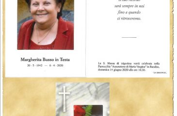 RICORDINO MARGHERITA BUSSO
