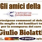 Adesione Giulio Biolatti