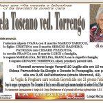 Lutto Angela Toscano