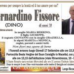 LUTTO BERNARDINO FISSORE
