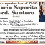 LUTTO MARIA SAPORITA