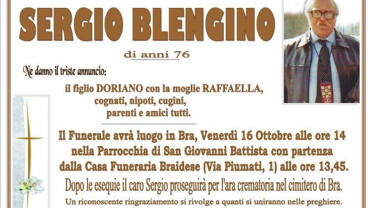 LUTTO SERGIO BLENGINO