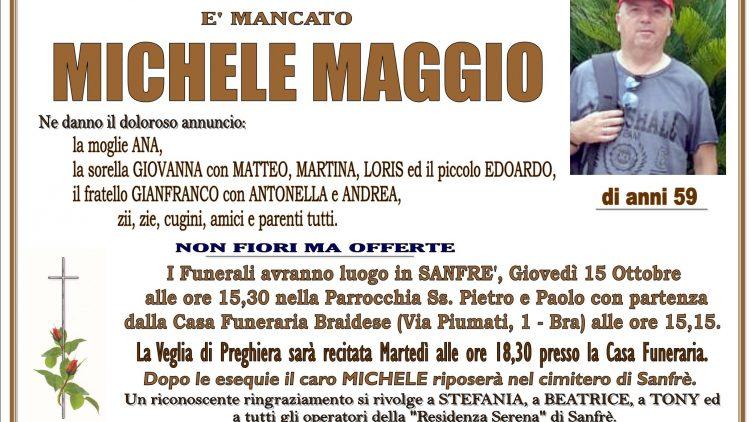 LUTTO MICHELE MAGGIO