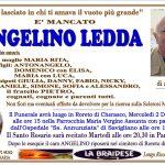 LUTTO ANGELINO LEDDA
