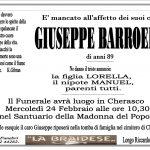 LUTTO GIUSEPPE BARROERO