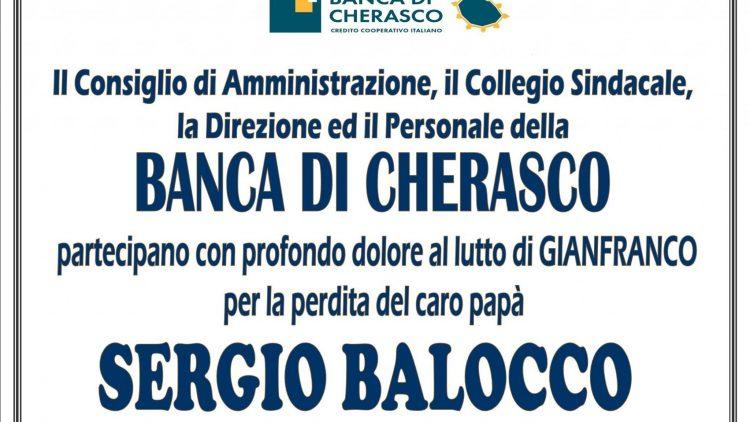 ADESIONE SERGIO BALOCCO