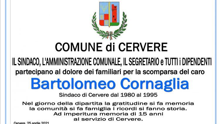 ADESIONE BARTOLOMEO CORNAGLIA