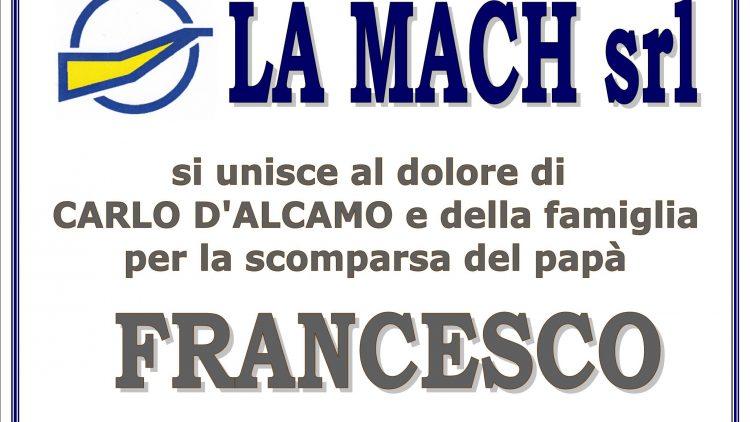 ADESIONE FRANCESCO D'ALCAMO