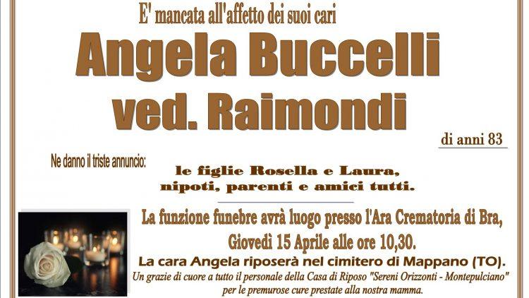LUTTO ANGELA BUCCELLI