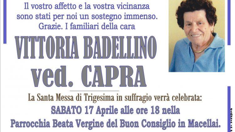 TRIGESIMA VITTORIA BADELLINO