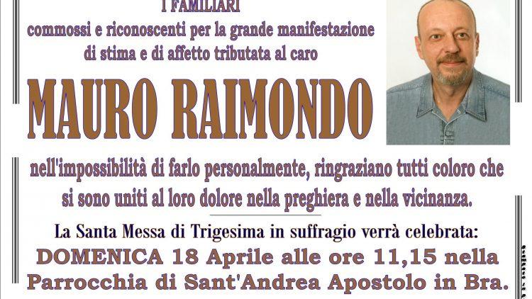 TRIGESIMA MAURO RAIMONDO