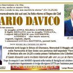 LUTTO MARIO DAVICO
