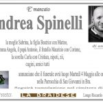 LUTTO ANDREA SPINELLI