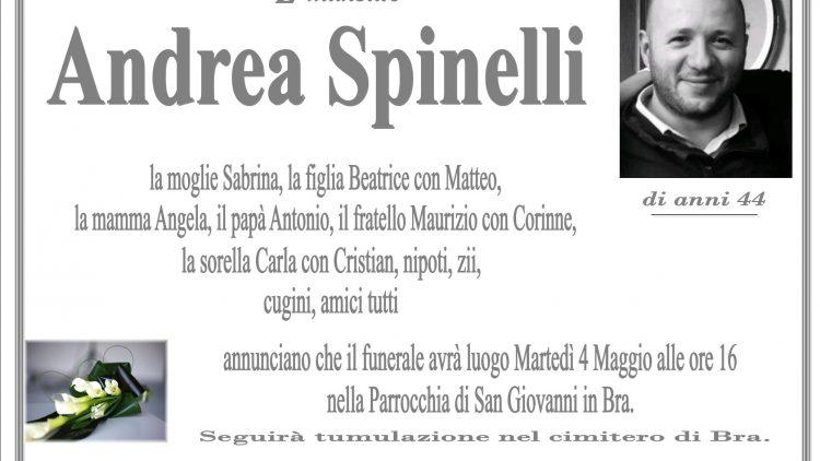 LUTTO ANDREA SPINELLI