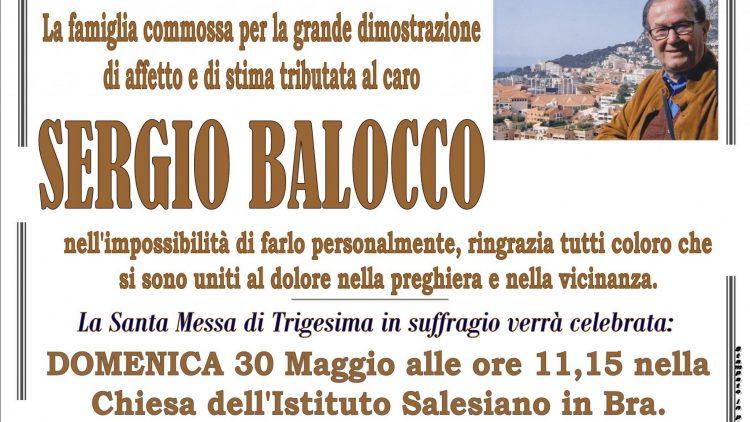 TRIGESIMA SERGIO BALOCCO