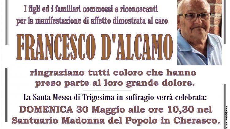 TRIGESIMA FRANCESCO D'ALCAMO