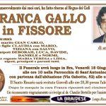 LUTTO FRANCA GALLO